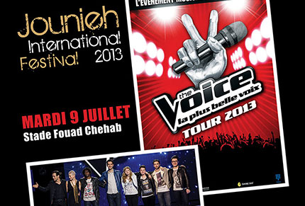"""The Voice, La plus belle voix"": La Tournée au Liban"